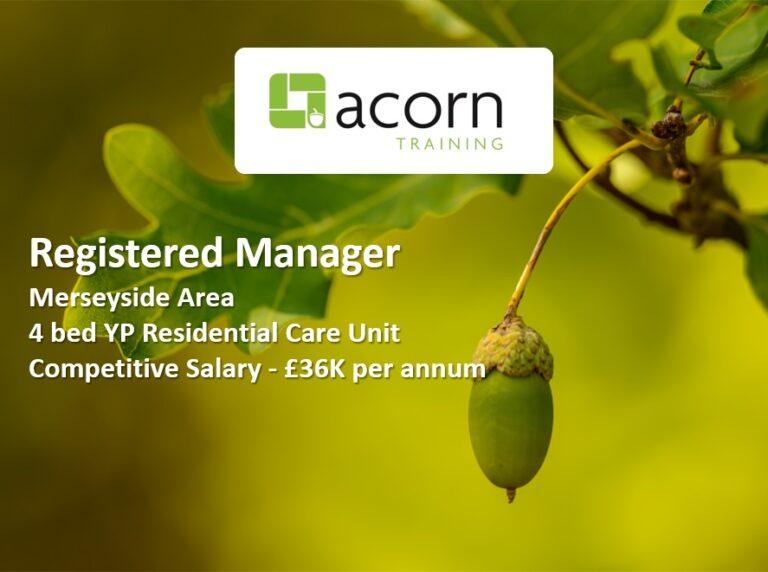 Registered Manager Merseyside